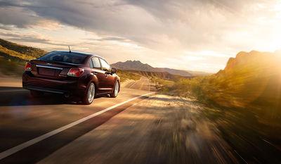 Subaru Impreza sunrise