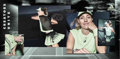 GLAM PRODUCTION produced Adidas Tennis in Palm Springs