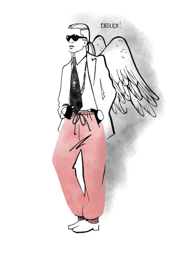 Tribute to Karl Lagerfeld / Susan Hassmann