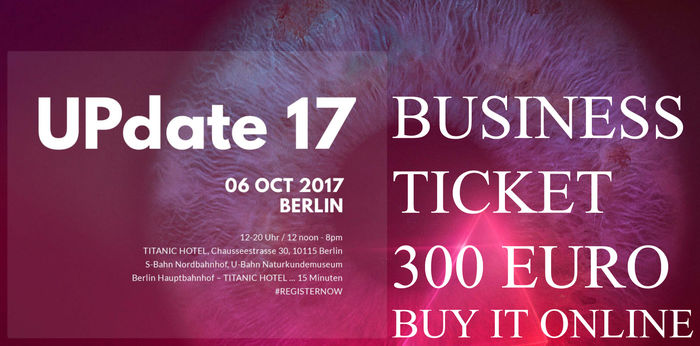 UPDATE17BERLIN - TICKET
