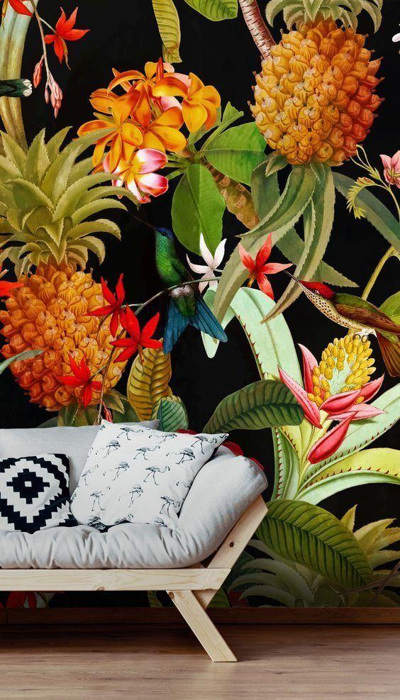 UTART Pineapple Paradise Wallmural