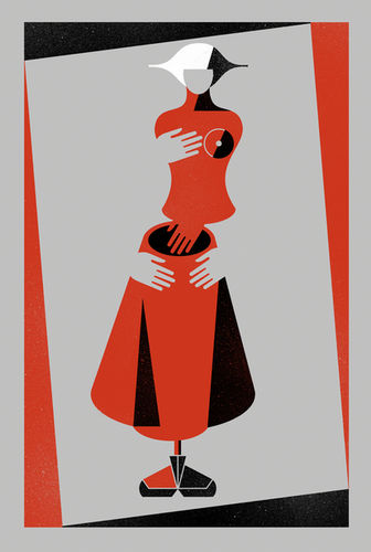 BALBUSSO TWINS Cover Design for The Handmaid'sTale by Margaret Atwood
