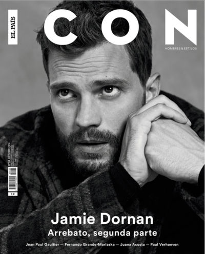 MAKING PICTURES: Jamie Dornan in ICON Magazine by Neil Bedford
