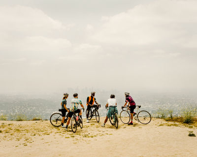 Jake Stangel c/o GIANT ARTISTS captures the energetic cycling culture in Los Angeles for Rapha's latest campaign, Riding is the Answer.