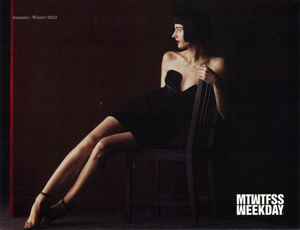 NEW BLOOD AGENCY : Tekla KNAUST for MTWTFSS WEEKDAY SS12