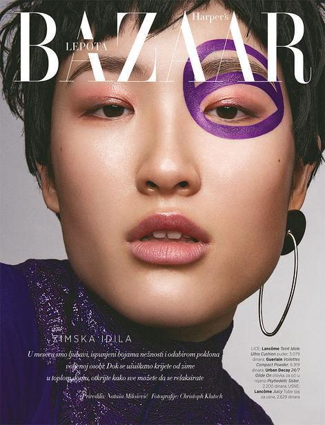 NINA KLEIN, Hair & Make Up: Melanie Schoene, Harper´s Bazaar Serbia