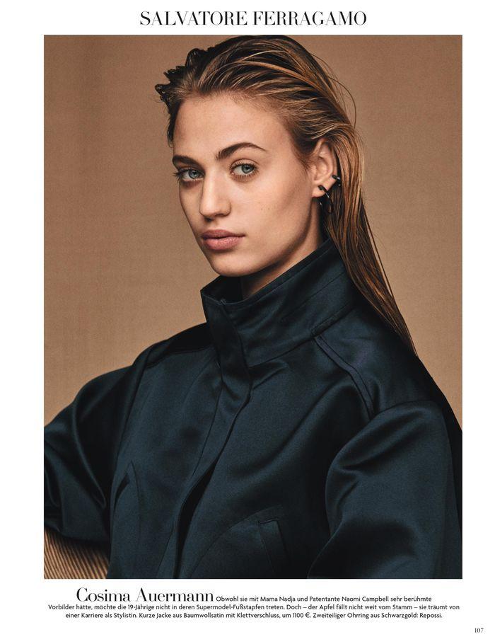 VIVA MODELS: Cosima Auermann for Vogue Germany February 2017