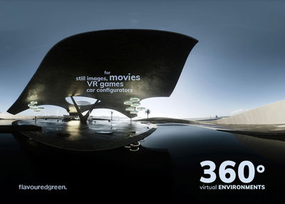 NERGER M&O : 'PLAZA', a photorealistic 360° 3D experience by Cornelius STEFFAN