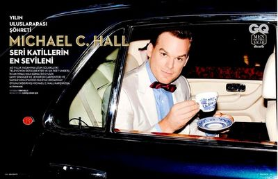 GLAMPR : Michael C. Hall for GQ Turkey