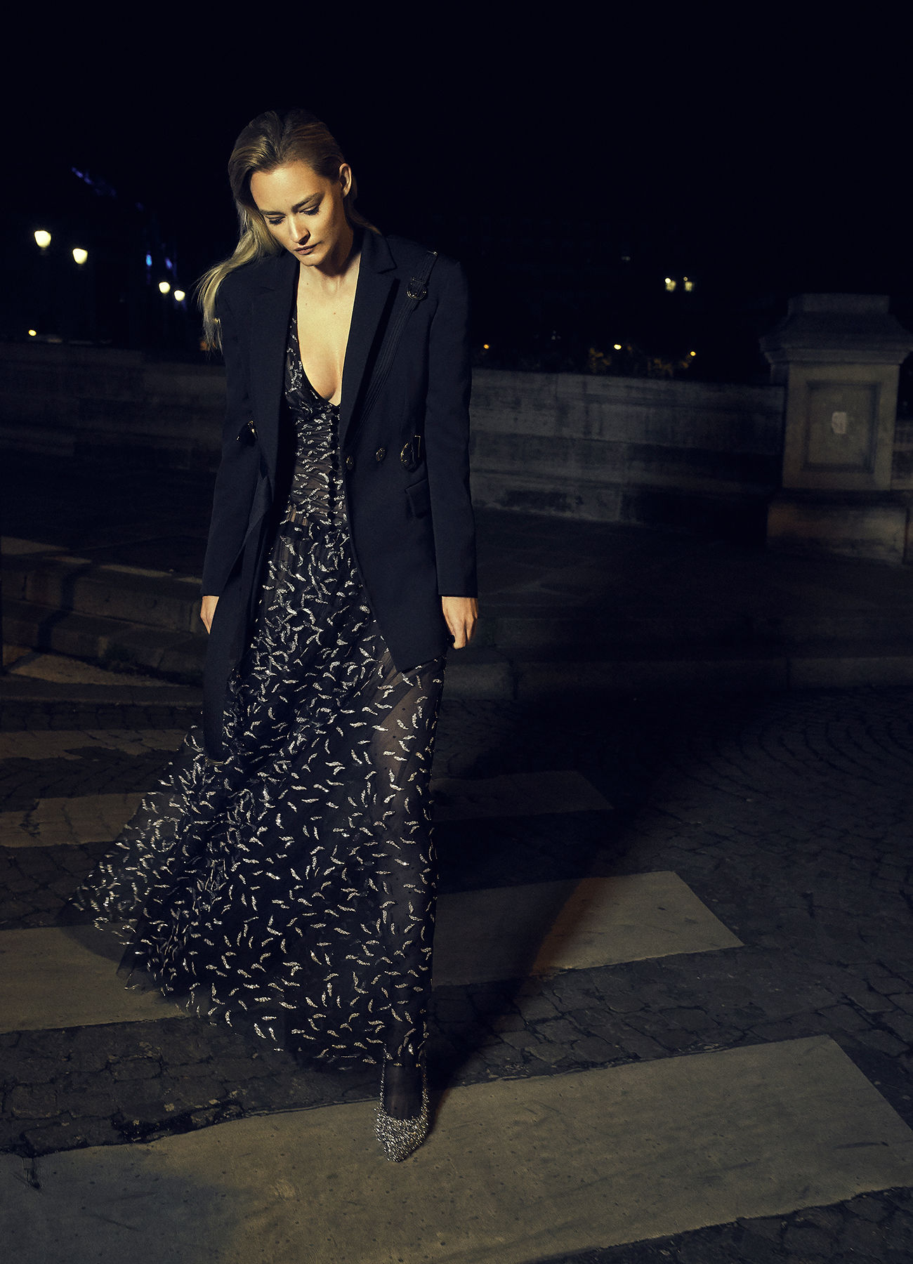'Paris by night' ROGER WEBER for ELLE SERBIA