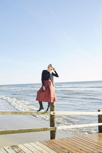 HILLE PHOTOGRAPHERS: Nicole Neumann for Burda Style