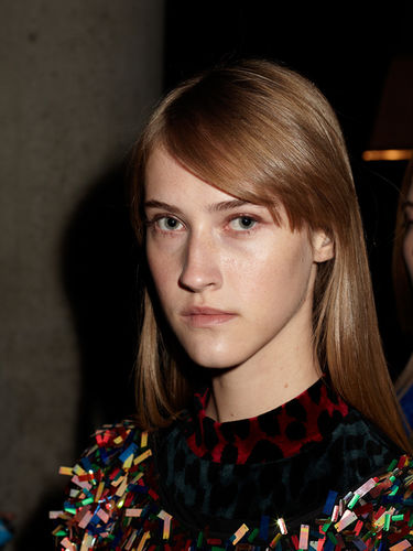 "Jens Kaesemann ""Beauty Looks, Fashion week Berlin 2017"" für Tush Magazine"