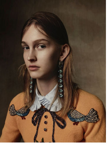 VIVA MODELS: Julia Fuchs for Vogue Germany November 2015