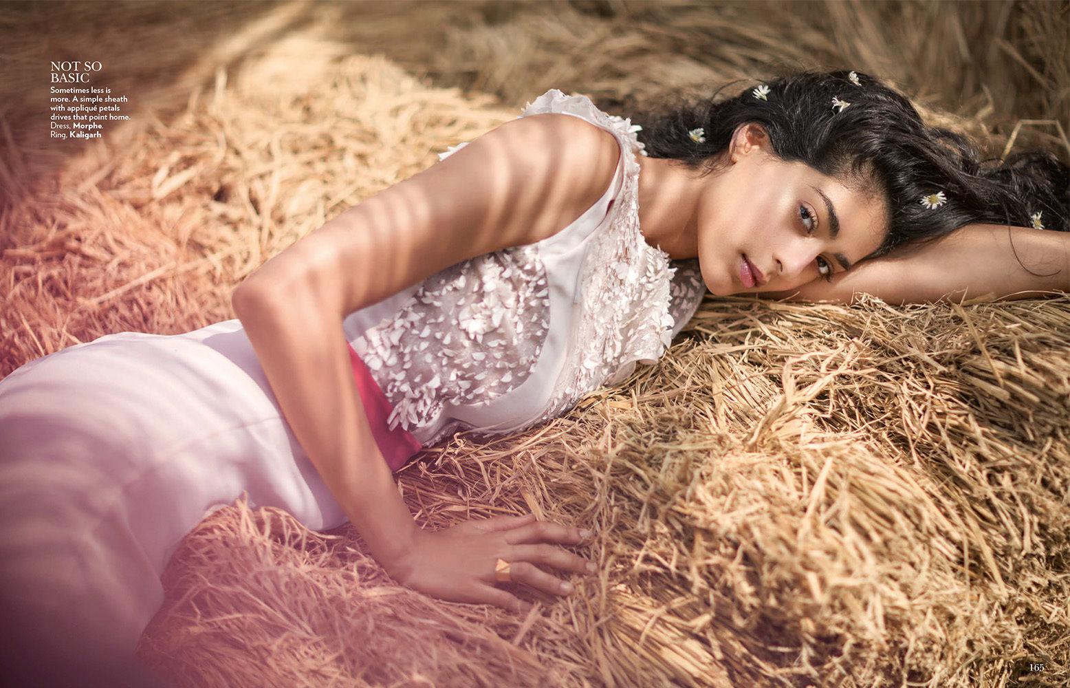 ANIMA CREATIVE  : Tania Travers for VOGUE India