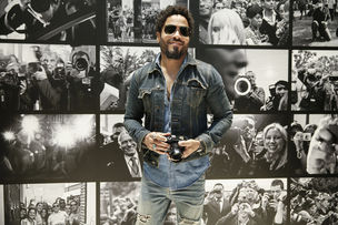 """Flash"" by Lenny Kravitz premiered at the Leica Gallery in Wetzlar, Germany"