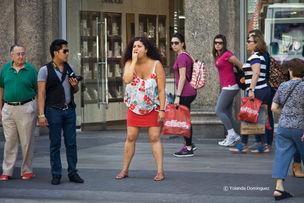 YOLANDA DOMINGUEZ : Poses