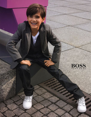BRODYBOOKINGS for HUGO BOSS KIDS