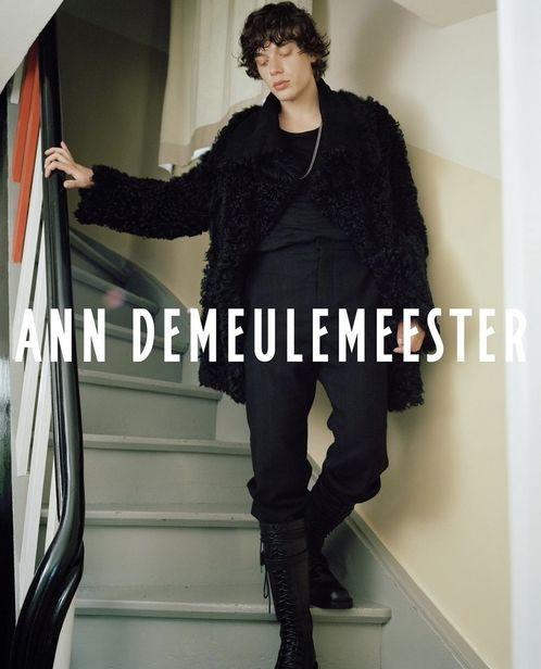 Hair Stylist Tony Lundström c/o BLOSSOM MGMT for Ann Demeulemeester
