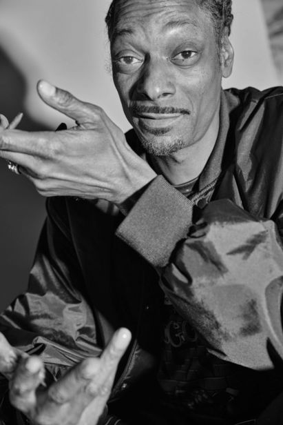 Snoop Dogg for The New York Times by Maggie Shannon c/o MAKING PICTURES