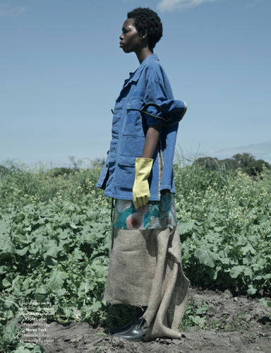 10-4 AFRICA : Jackie Nickerson for ANOTHER MAGAZINE