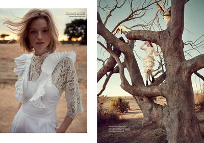 SARAH LAIRD + GOOD COMPANY: Thea Lewis-Yates for IN LONDON Magazine