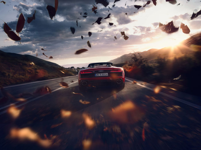 """SEVERIN WENDELER: AUDI R8 - Photography by """"Agnieszka Doroszewicz c/o Severin Wendeler"""" for AUDI"""