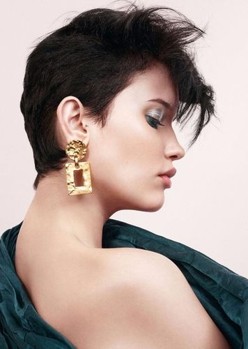 Fernanda Beuker for MDC Beauty shot by Alex John Beck