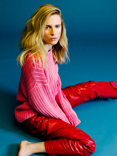João Canziani c/o GIANT ARTISTS shot The OA actress and screenwriter Brit Marling for New York Magazine