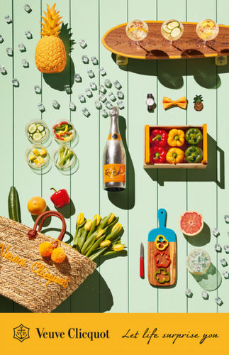 Coco Amardeil for Veuve Clicquot