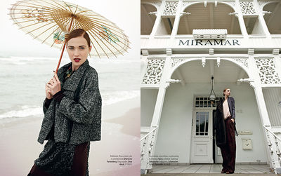 CLOSE UP AGENCY for MARIE CLAIRE Hungary