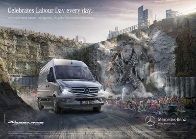 RECOM CGI : Sprinter campaign 2015