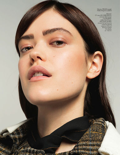 Thomas Lorenz MAKE UP for VOGUE Ukraine