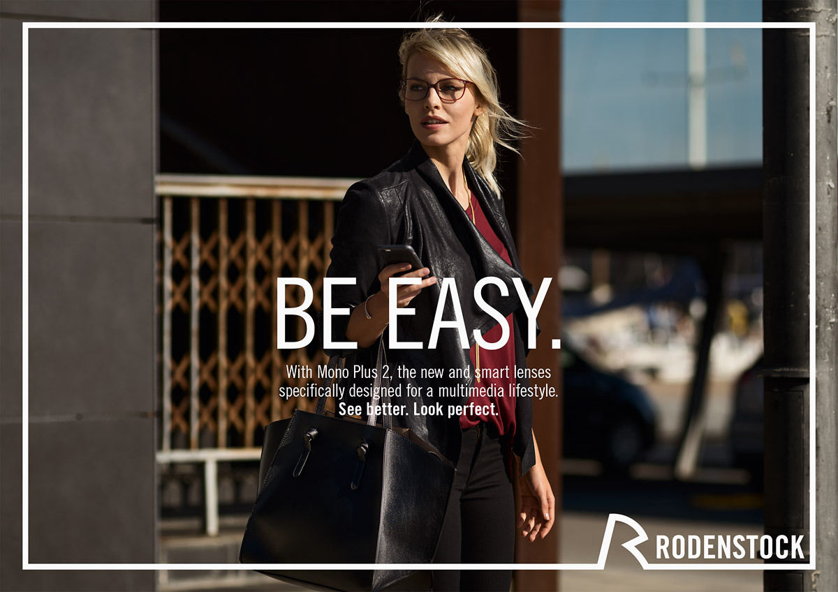RODENSTOCK 2016 campaign produced by NEVEREST for Serviceplan ... 497b3fee349f