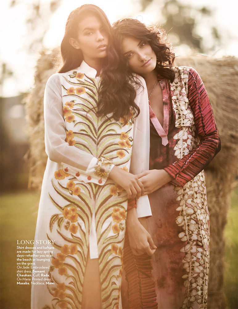ANIMA CREATIVE  : Tania Travers for VOGUE India