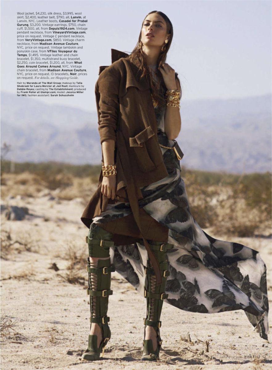 GLAMPR ELLE Magazine Jessica Miller