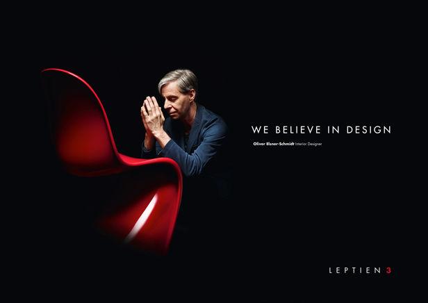 """LEPTIEN 3 / PESCH , """"WE BELIEVE IN DESIGN"""""""