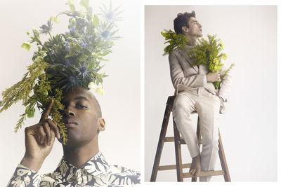 "SHOTVIEW ARTISTS MANAGEMENT c/o Peter Gehrke for KaDeWe ""flower"""