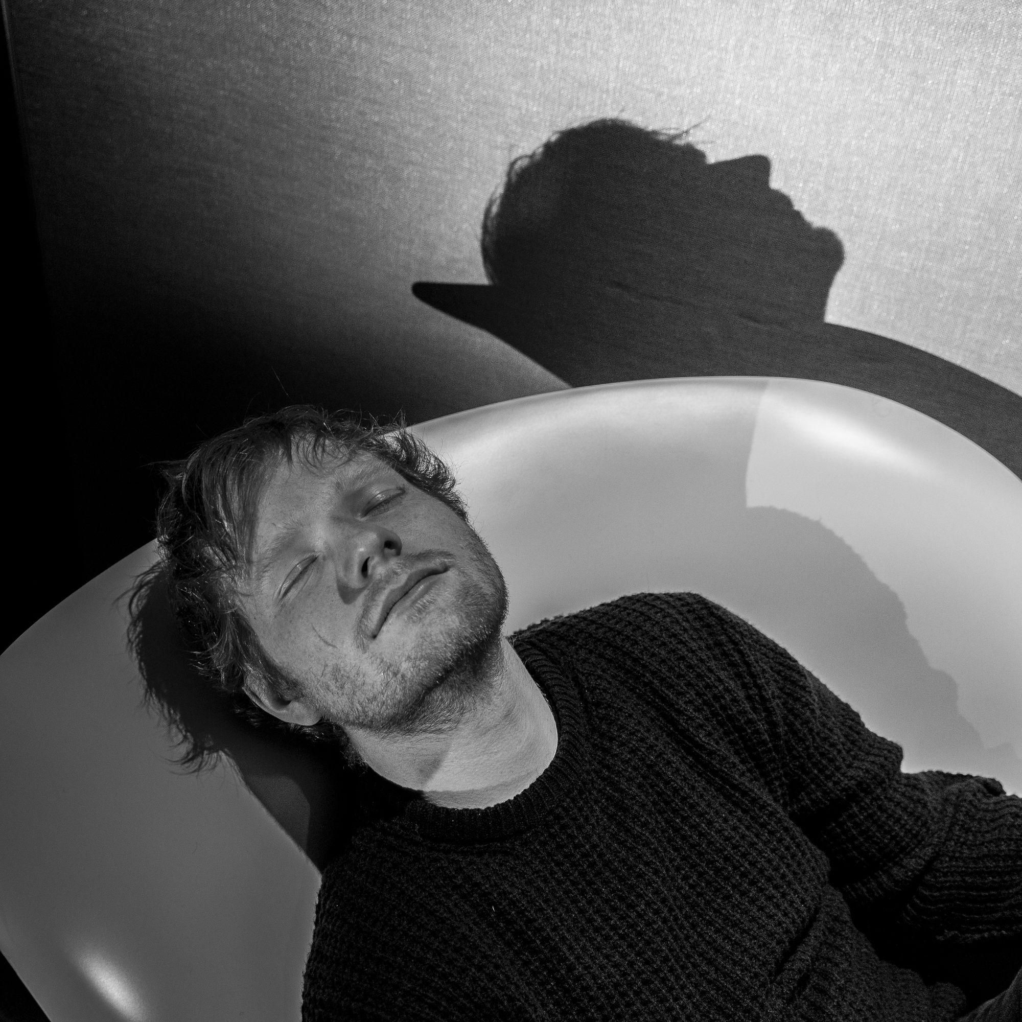 Jonas Holthaus c/o Freda+Woolf photographed Ed Sheeran for Zeit Magazin