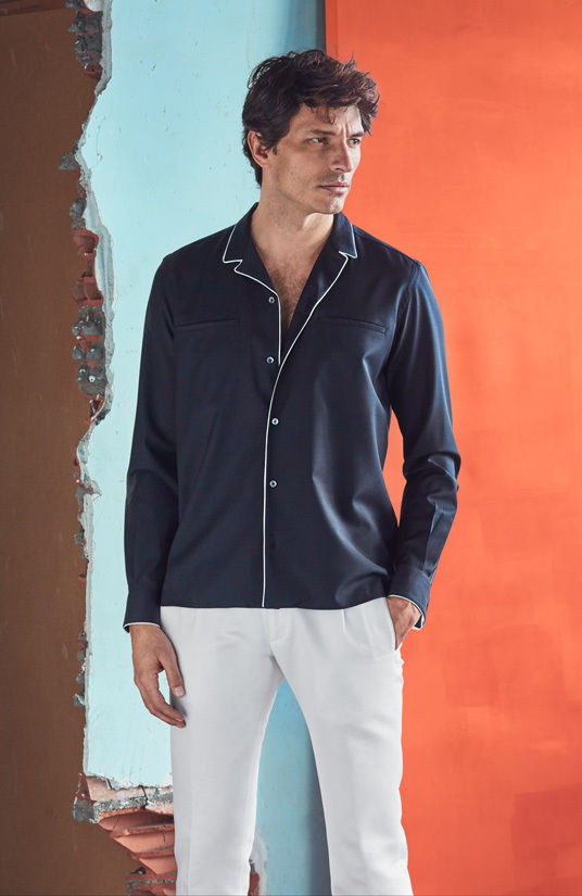 MASSIMO DUTTI MAN COLLECTION SS17 by HUNTER & GATTI