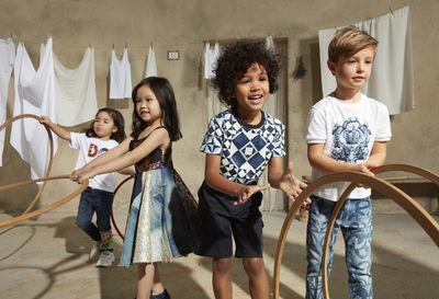 Dolce & Gabbana Kids ADV Spring Summer 2021 by Achim Lippoth