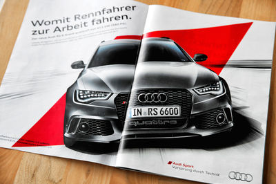 Audi RS AD Campain