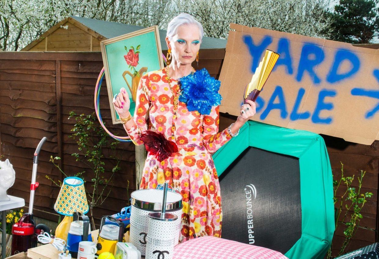 Alexander Coggin  c/o MAKING PICTURES conceived and photographed 'Yard Sale' for Vogue Italia