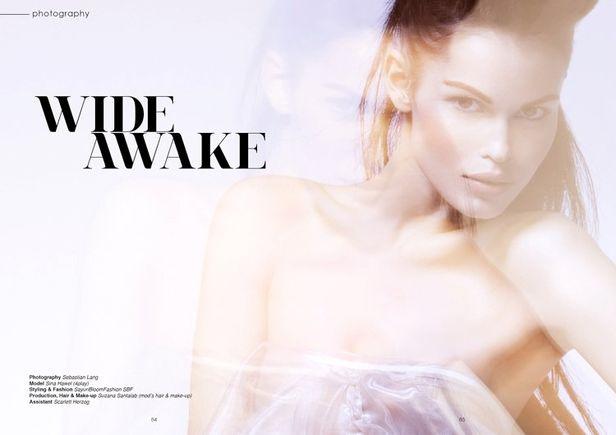 SUZANA SANTALB for HOLE Magazine