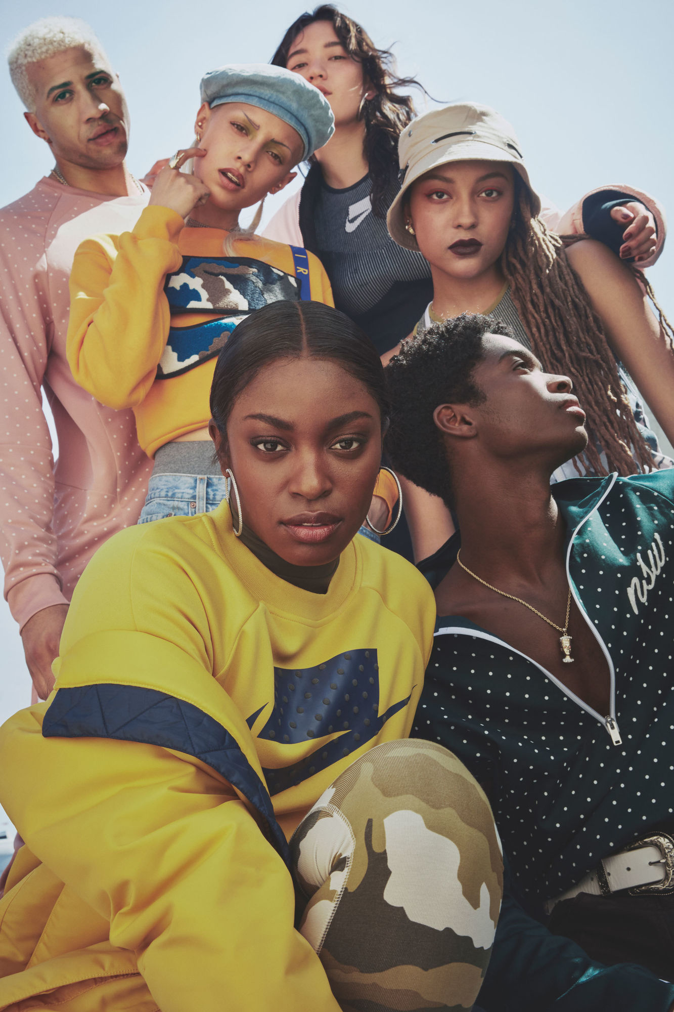 Nike launched their newest campaign for the NSW Tech Pack Collection with Sloane Stephens, photographed by Micaiah Carter c/o GIANT ARTISTS