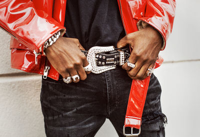 Christaan Felber c/o GIANT ARTISTS photographed Lil NasX for Rolling Stone