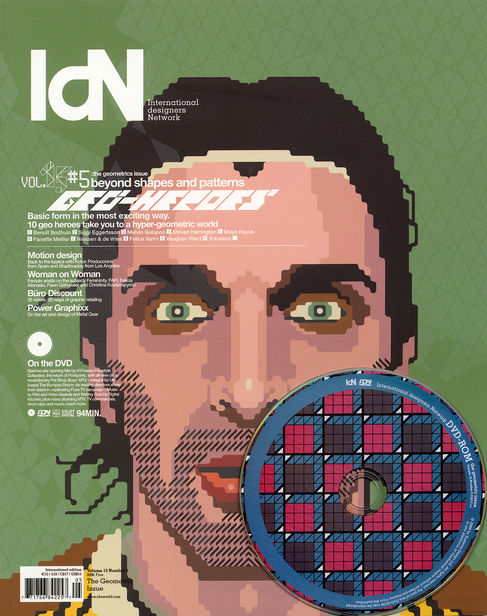 IDN MAGAZINE : Cover - The Geometric Issue