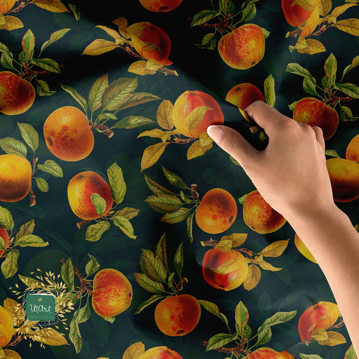 Vintage Pattern with apples