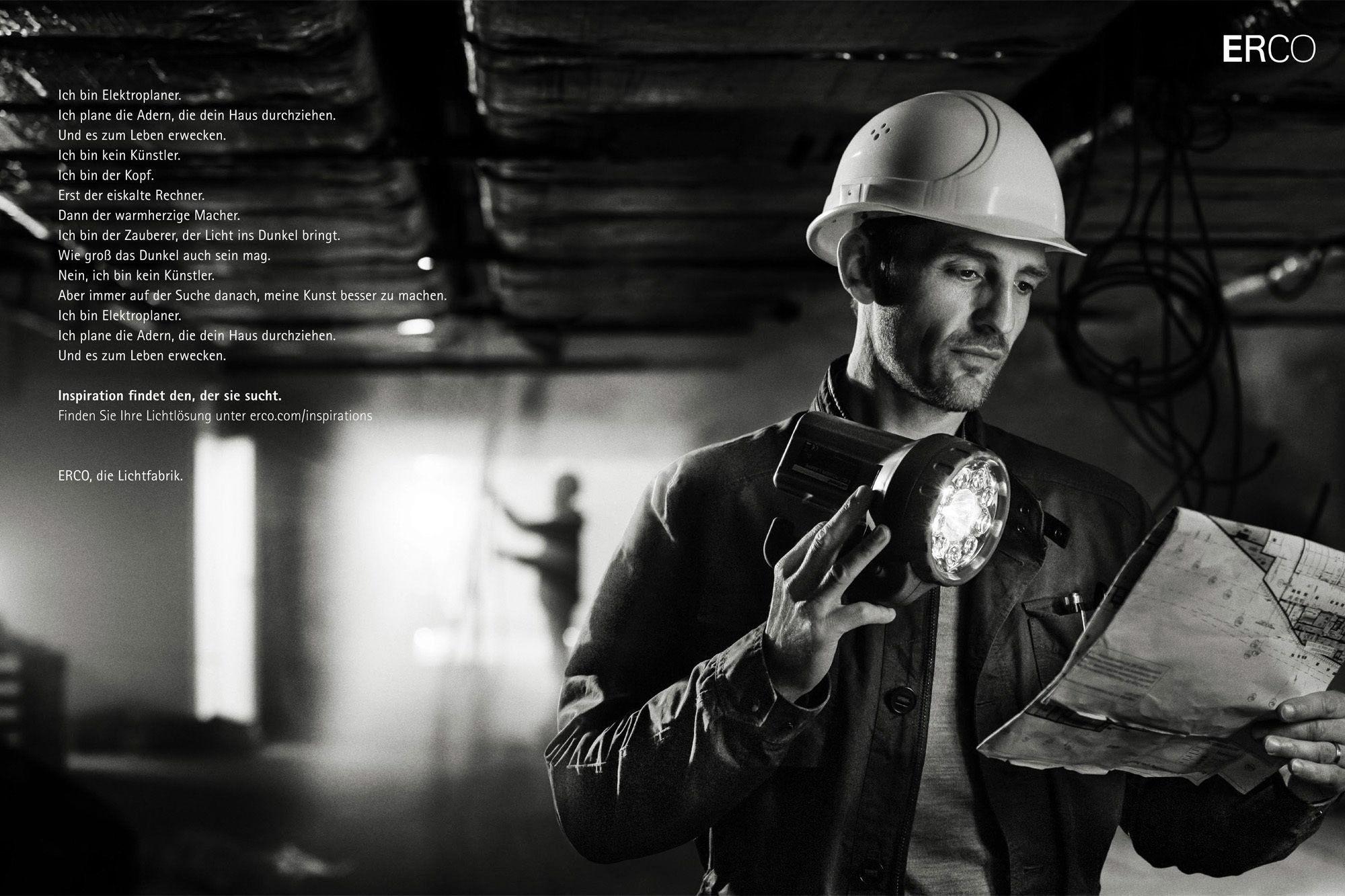 ERCO, die Lichtfabrik.