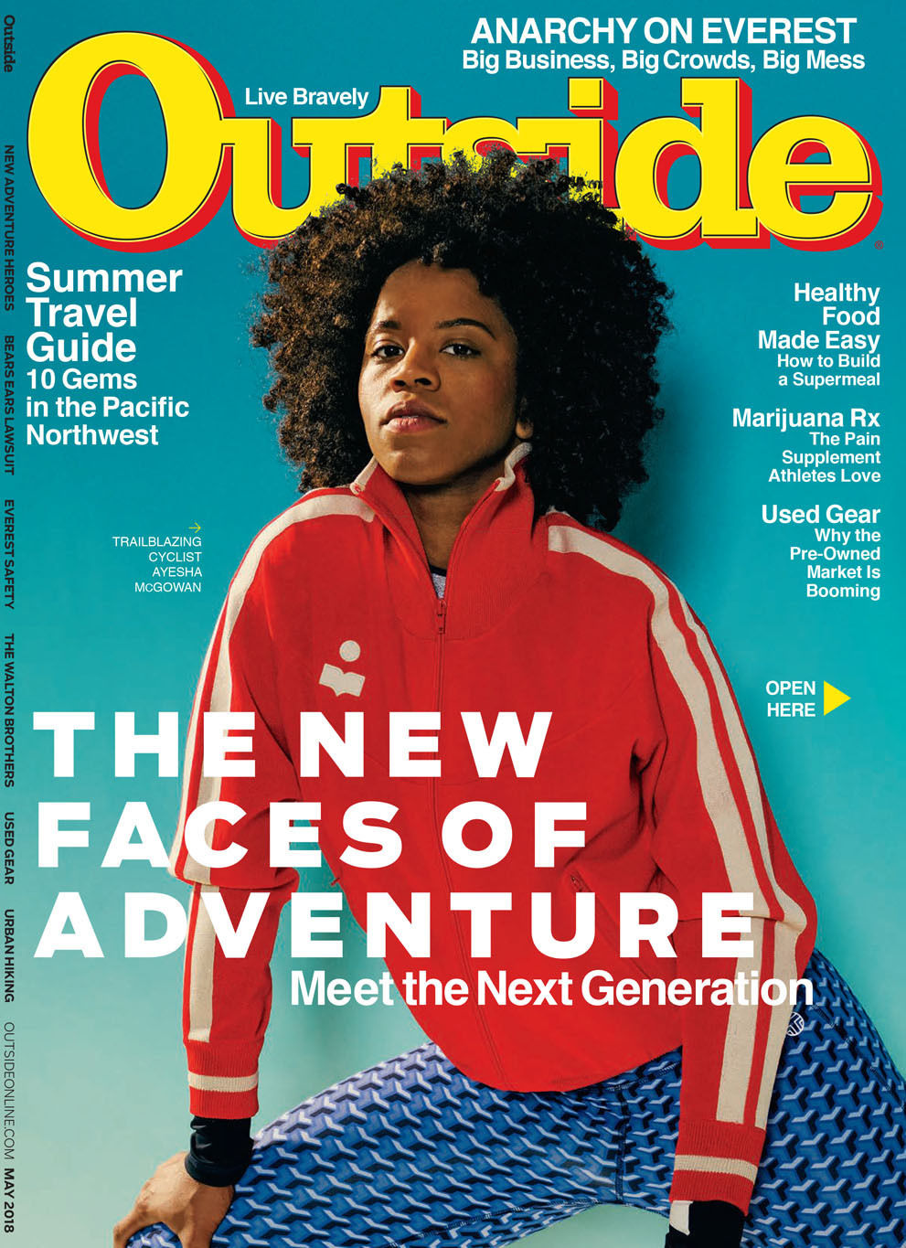 João Canziani c/o GIANT ARTISTS João Canziani photographed the New Faces of Adventure cover for Outside Magazine