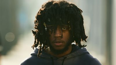 Michael Schmelling c/o GIANT ARTISTS shot emerging Atlanta musician 6LACK, pronounced 'BLACK,' for GQ magazine.